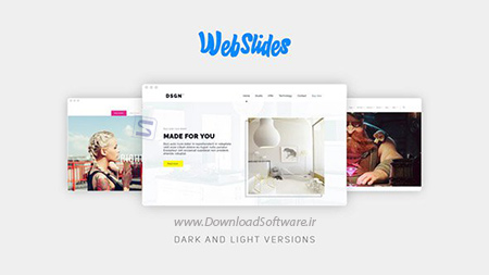 دانلود پروژه افترافکت با موضوع WebSlides