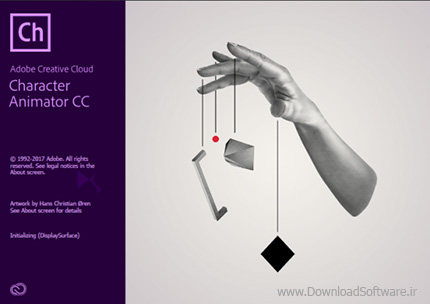 دانلود نرم افزار Adobe Character Animator CC - انیمیشن سازی با شخصیت های کارتونی طراحی شده در فتوشاپ و ایلاستریتور