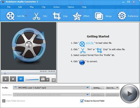 دانلود Avdshare Audio Converter + Portable نرم افزار تبدیل کننده صوتی