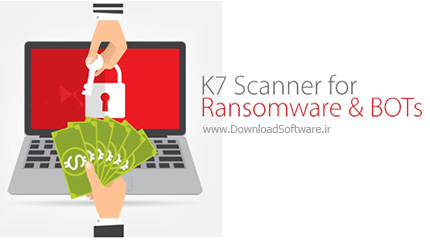 دانلود K7 Scanner for Ransomware & BOTs – نرم افزار ضد باجگیر