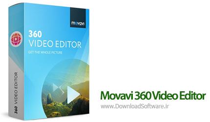 دانلود Movavi 360 Video Editor 1.0.0 نرم افزار ویرایش ویدیو 360 درجه