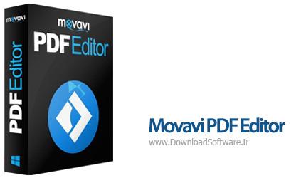دانلود Movavi PDF Editor نرم افزار ویرایشگر فایل های پی دی اف