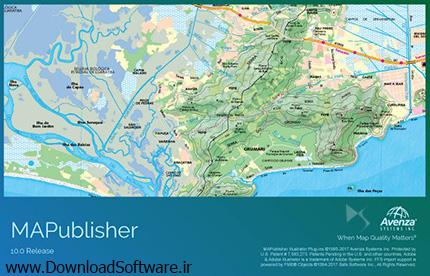 دانلود نرم افزار Avenza MAPublisher برای Adobe Illustrator