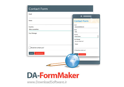 دانلود DA-FormMaker - نرم افزار ساخت فرم های HTML