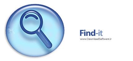 دانلود Find-it - نرم افزار جستجوی فایل در فضای هارد دیسک و شبکه