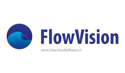 دانلود نرم افزار شبیه سازی دینامیک سیالات محاسباتی و جریان سیال گاز و مایع FlowVision