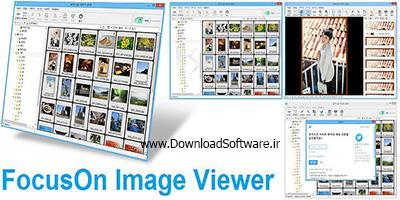 دانلود FocusOn Image Viewer نرم افزار نمایشگر تصاویر