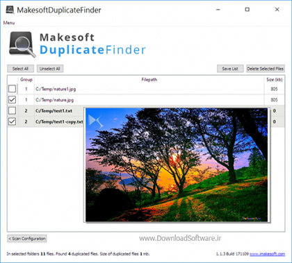 دانلود Makesoft DuplicateFinder