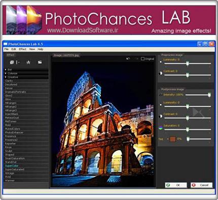 دانلود PhotoChances Lab – مجموعه ای از افکت ها برای فتوشاپ