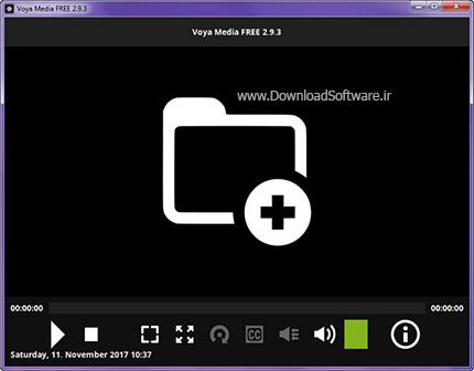 دانلود Voya Media FREE نرم افزار مدیا پلیر رایگان