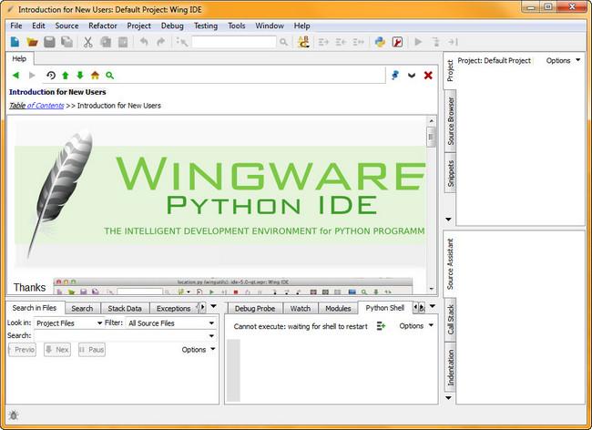 دانلود Wingware Wing IDE Pro نرم افزار قدرتمند برنامه نویسی به زبان پایتون