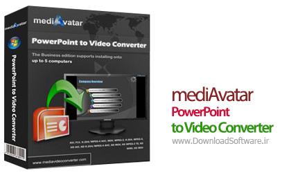 نرم افزار mediAvatar PowerPoint to Video Converter تبدیل پاورپوینت به ویدیو