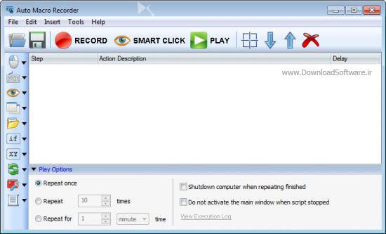دانلود Auto Macro Recorder نرم افزار تکرار حرکات موس و کیبورد برای ویندوز