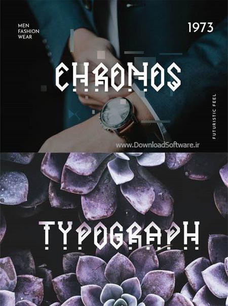 دانلود فونت جدید Ornacle - Futuristic Font