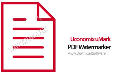 دانلود Uconomix uMark PDF Watermarker Pro نرم افزار واترمارک روی پی دی اف
