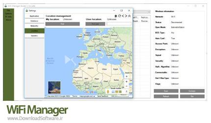 دانلود WiFi Manager نرم افزار مدیریت وای فای