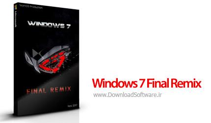 دانلود Windows 7 Final Remix - سیستم عامل ویندوز 7 نسخه رمیکس