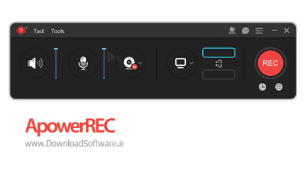 دانلود ApowerREC - نرم افزار فیلمبرداری از صفحه نمایش