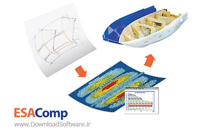دانلود ESAComp - نرم افزار طراحی و تجزیه و تحلیل کامپوزیت