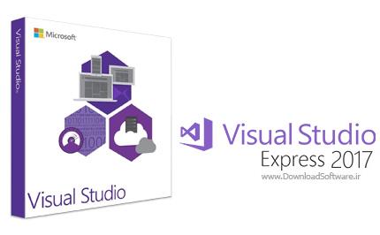 دانلود Microsoft Visual Studio Express 2017 - نرم افزار ویژوال استودیو اکسپرس 2017