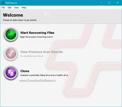 دانلود Prosoft Data Rescue Pro نرم افزار قوی بازیابی اطلاعات
