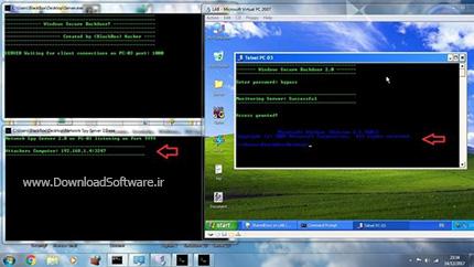 دانلود Windows Secure Backdoor نرم افزار کنترل از راه دور سیستم