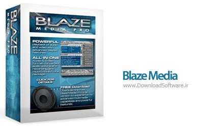 دانلود Blaze Media Pro 10.00 نرم افزار تبدیل و ویرایش ویدیو و صوت