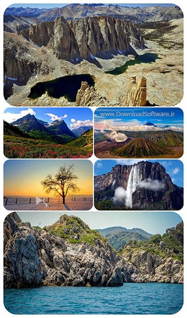 دانلود 64 عکس تصویر زمینه طبیعت با کیفیت بالا