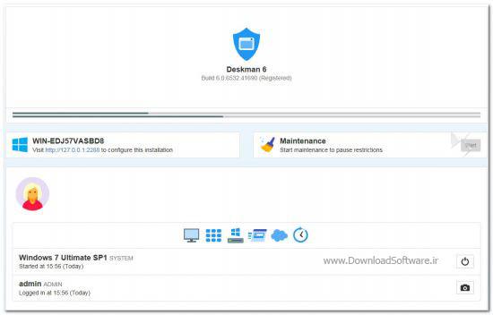 دانلود Deskman نرم افزار افزایش امنیت کامپیوتر