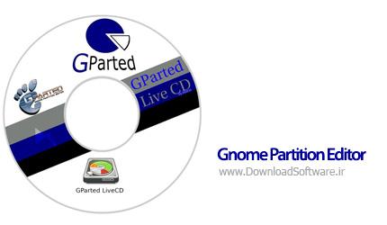 دانلود نرم افزار Gnome Partition Editor (GPartEd) Live مدیریت هارد دیسک
