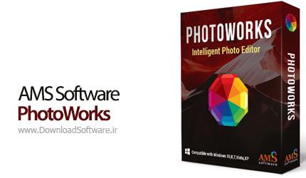 دانلود AMS Software PhotoWorks - نرم افزار ویرایشگر تصاویر