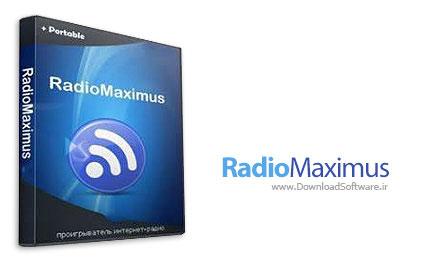 دانلود RadioMaximus - نرم افزار دریافت و ضبط ایستگاه های رادیویی