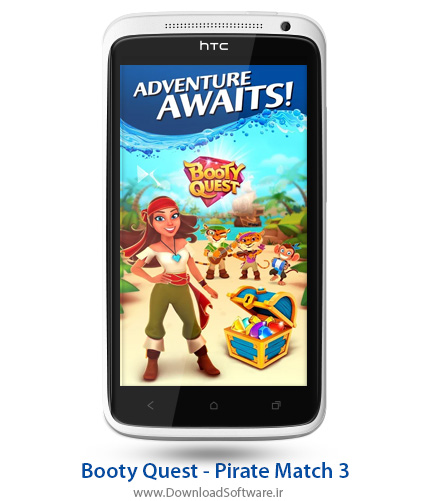 دانلود Booty Quest - Pirate Match 3