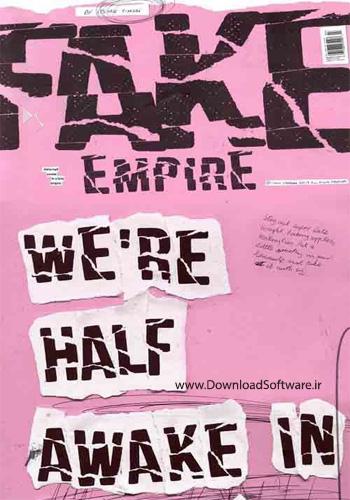 دانلود فونت انگلیسی Fake Empire