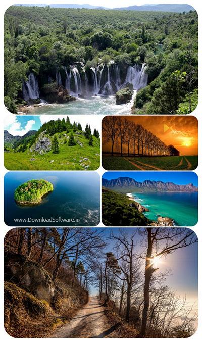 دانلود عکس والپیپر طبیعت با کیفیت بالا