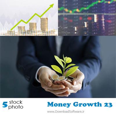 تصاویر رشد پول و تورم