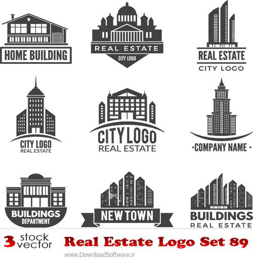 دانلود وکتورهای لوگو Real Estate