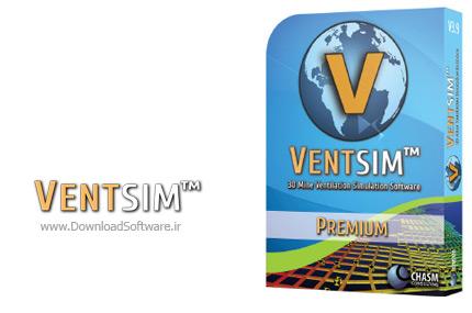 دانلود Chasm Consulting VentSim Premium Design - نرم افزار شبیهسازی و مدلسازی سه بعدی سیستمهای تهویه هوا