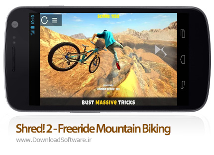 دانلود Shred! 2 - Freeride Mountain Biking
