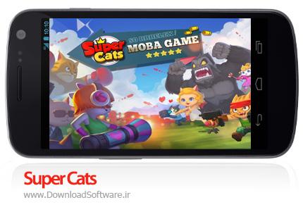 دانلود بازی Super Cats بازی گربه های شگفت انگیز اندروید