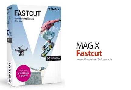 دانلود MAGIX Fastcut Plus Edition نرم افزار ویرایش ویدئو های اکشن