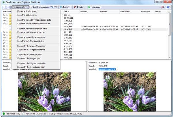 دانلود Detwinner - نرم افزار حذف فایل های تکراری