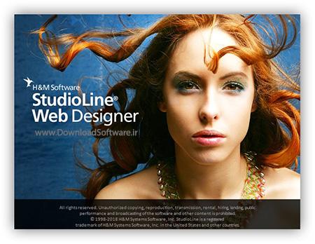 دانلود StudioLine Web Designer - برنامه طراحی، انتشار و مدیریت وبسایتها
