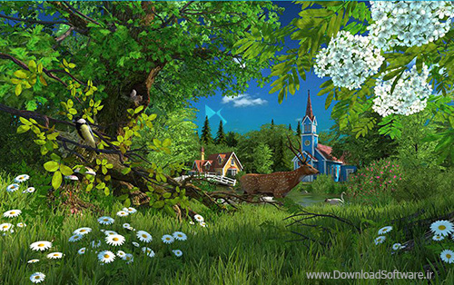 دانلود Summer Wonderland 3D Screensaver