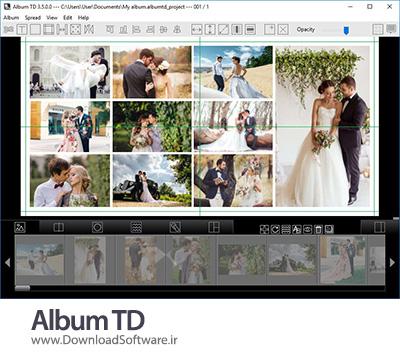 دانلود Album TD x64 نرم افزار ساخت آلبوم عکس عروسی