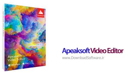 دانلود Apeaksoft Video Editor - نرم افزار حرفه ای ویرایش ویدیو کامپیوتر