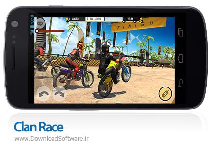 دانلود بازی Clan Race