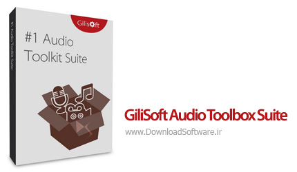 دانلود GiliSoft Audio Toolbox Suite 2018