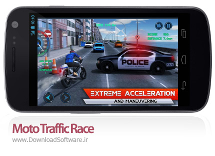 دانلود Moto Traffic Race