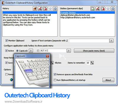 دانلود Outertech Clipboard History Pro